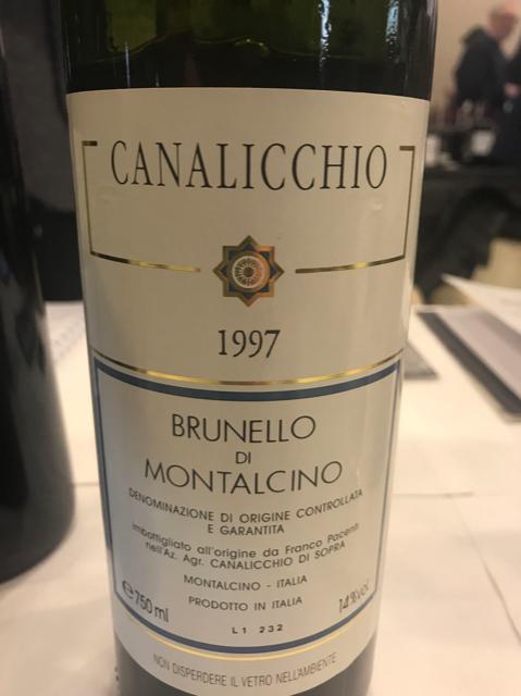 Brunello Canalicchio di Sopra 1997