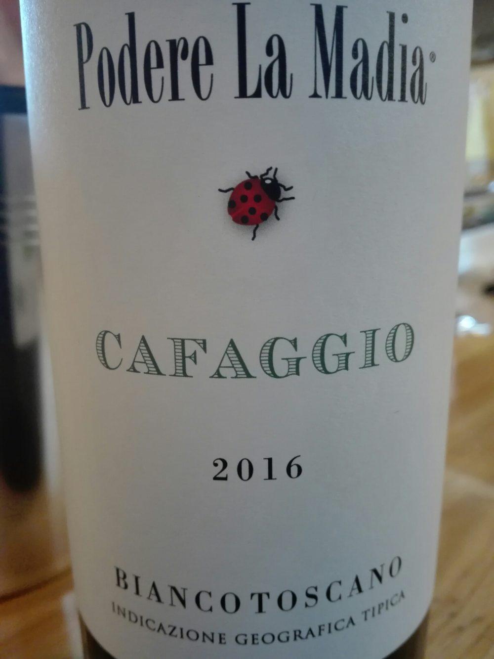 Cafaggio 2016 Podere la Madia Toscana IGT