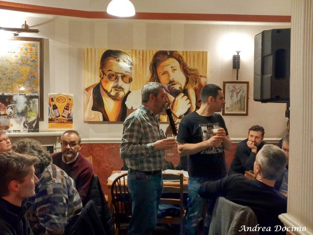 Campania OnTap da Scott Duff a Milano. Lorenzo Kuaska Dabove e Gianluca Polini