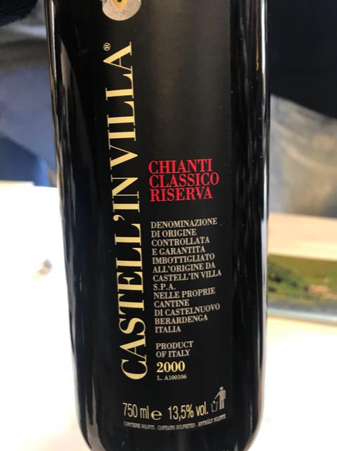 Castell'Invilla 2000