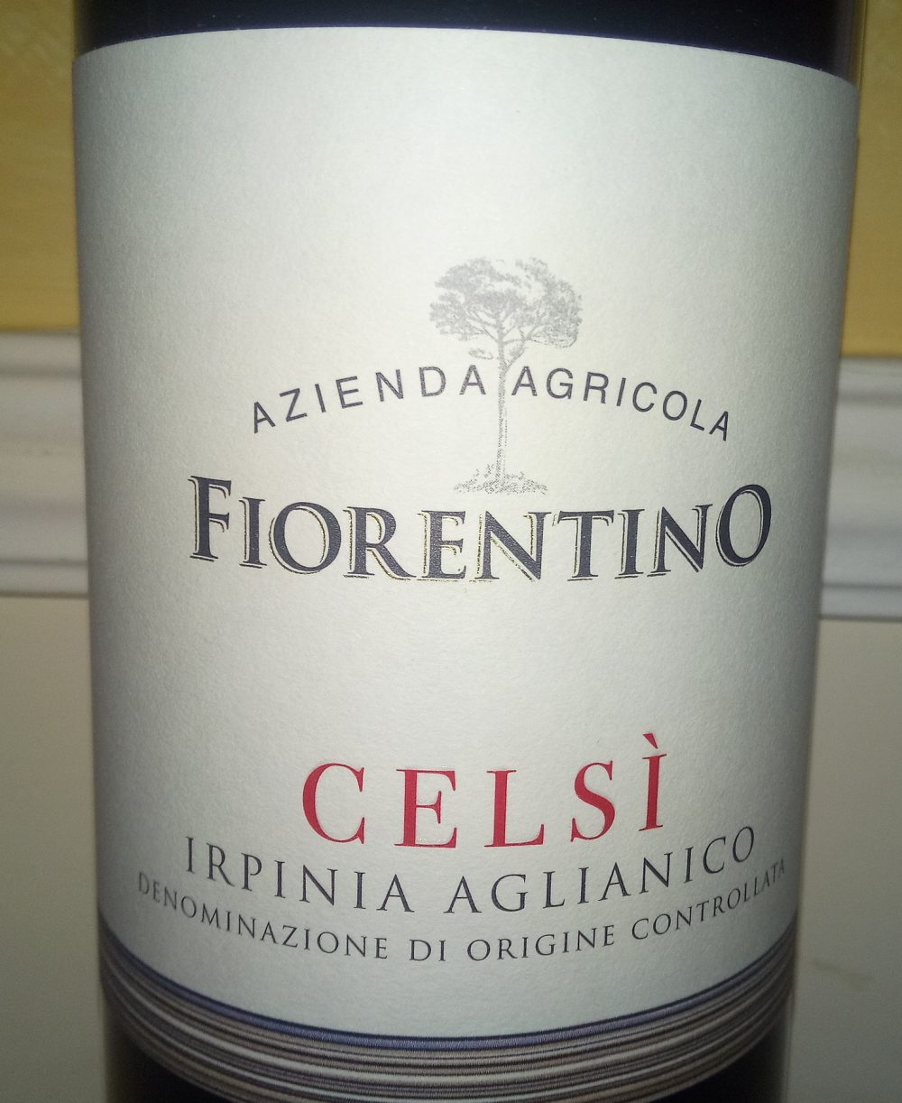 Celsi' Irpinia Aglianico Doc 2013 Fiorentino