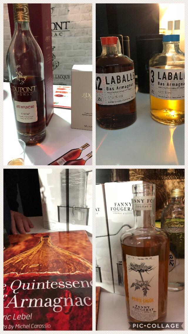 Cognac J.Dupont, Fanny Fougerat e Armagnac Laballe