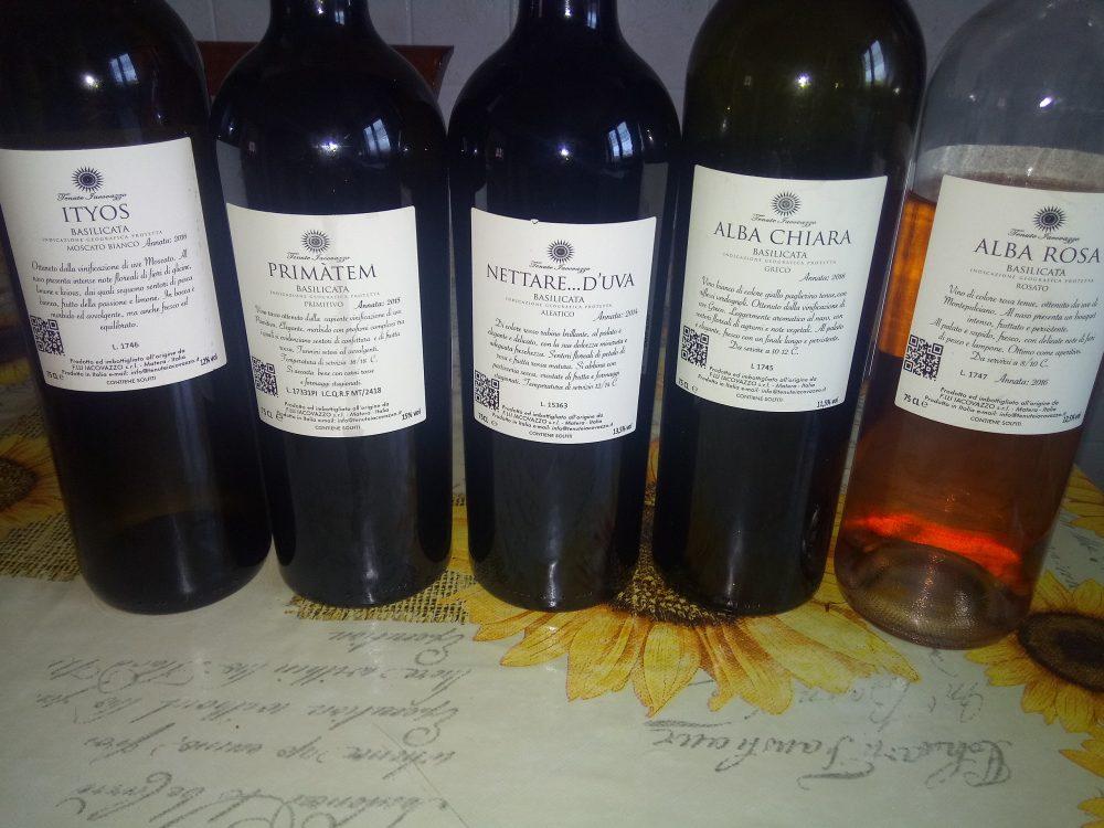 Controetichette Vini Tenute Iacovazzo