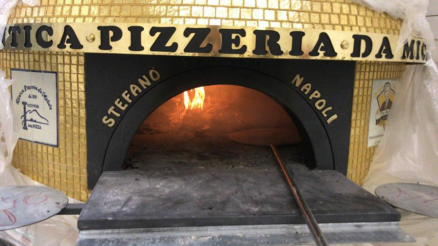 Da Michele a Roma, il forno