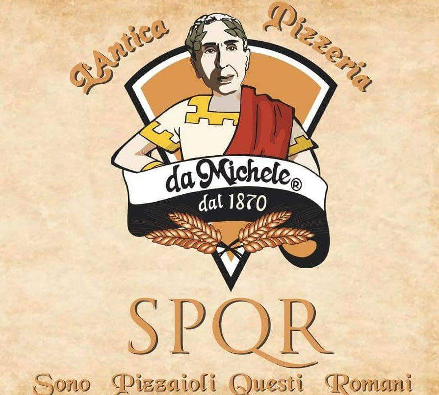 Da Michele a Roma, il logo