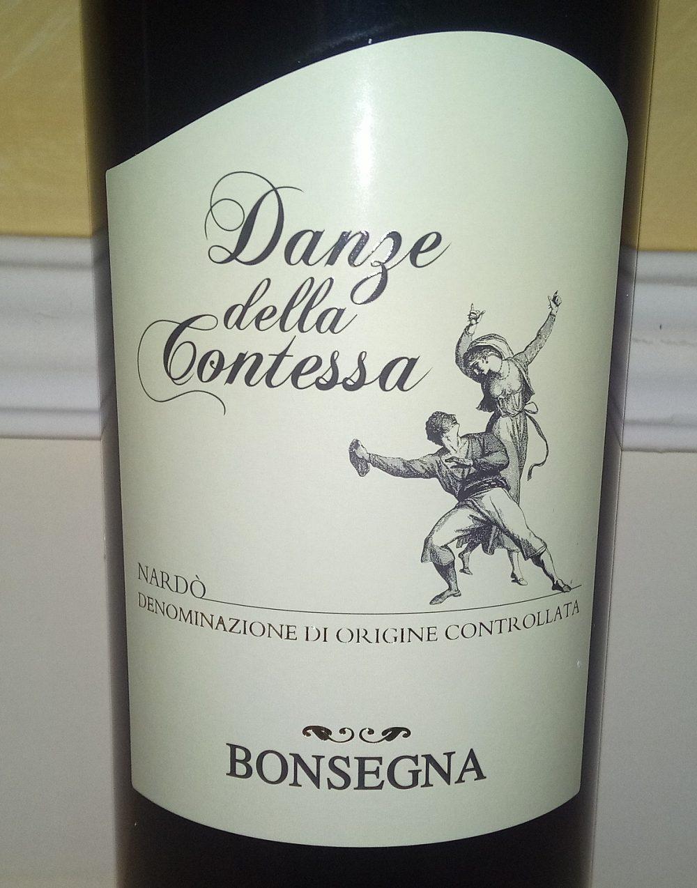 Danze della Contessa Nardo' Rosso Doc 2016 Bonsegna
