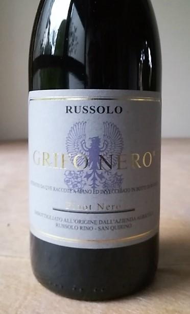 Venezia Giulia Igt Pinot Nero Grifo Nero 2013