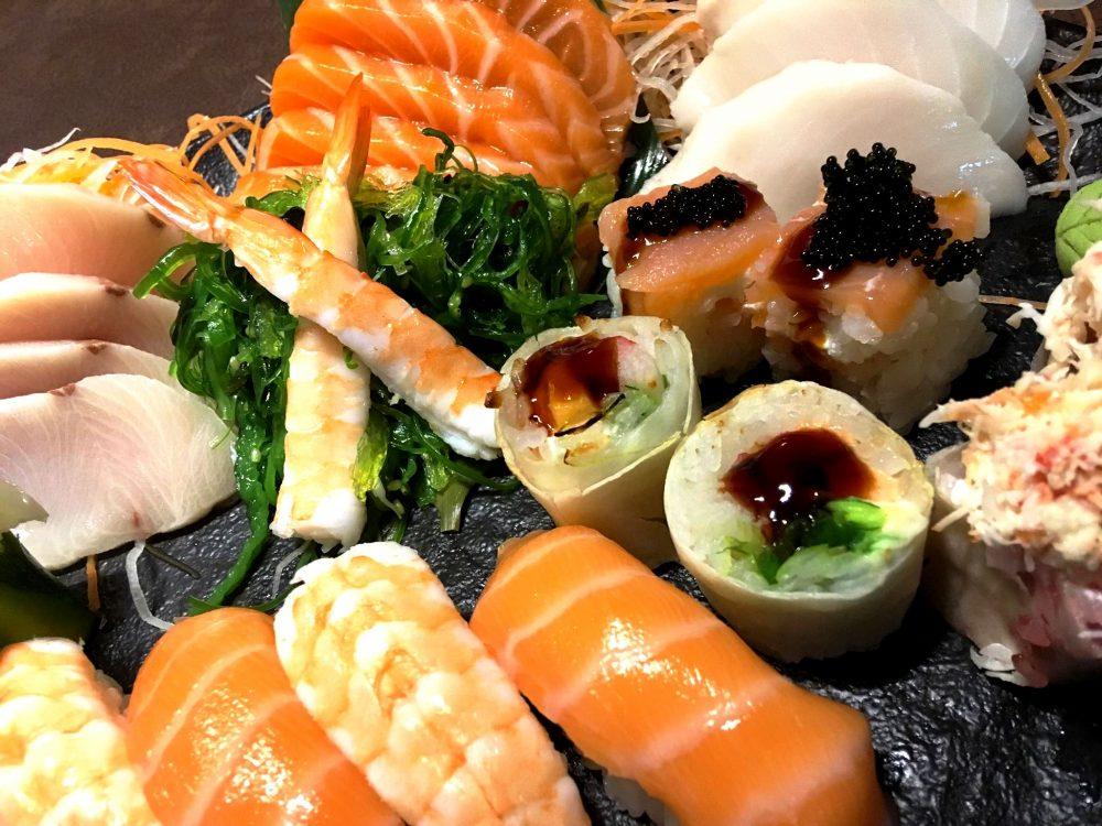 Yaki Tender, Nigiri, Rolls & Sashimi Selection