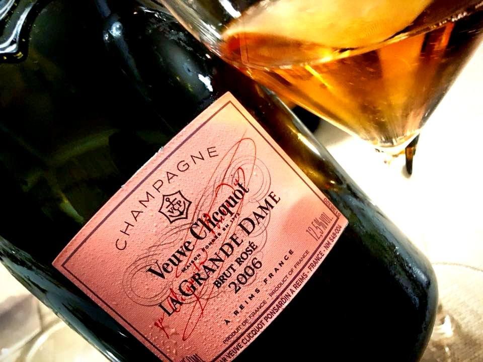 I Salotti del Patriarca - Champagne Veuve Clicquot La Grande Dame Rose' 2006