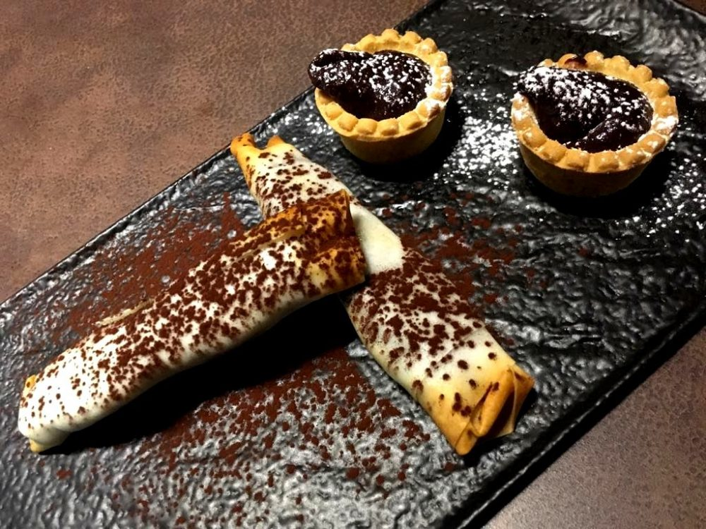 Yaki Tender, Gli Harumaki & Le Tartellette al cioccolato