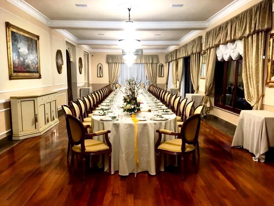 I Salotti del Patriarca, il Tavolo Imperiale