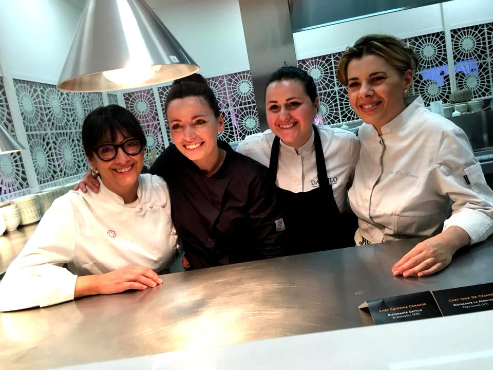 Isa Mazzocchi, Marianna Vitale, Caterina Ceraudo & Iside de Cesare