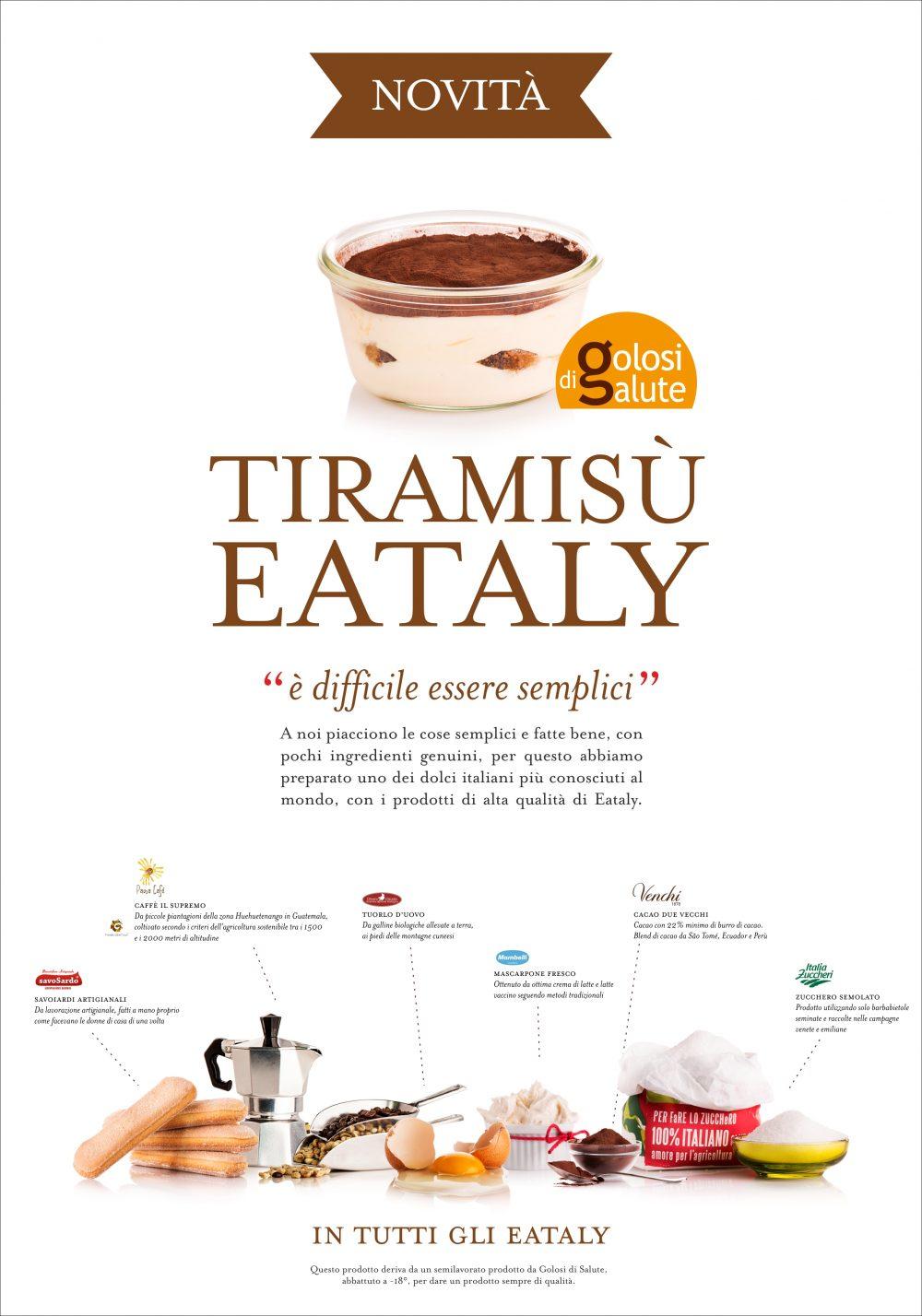 Tiramisu Eataly 2018