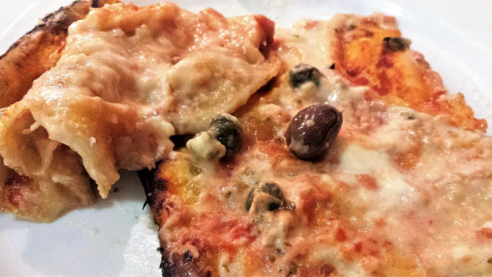 Focacceria Manuelina, Pizzata