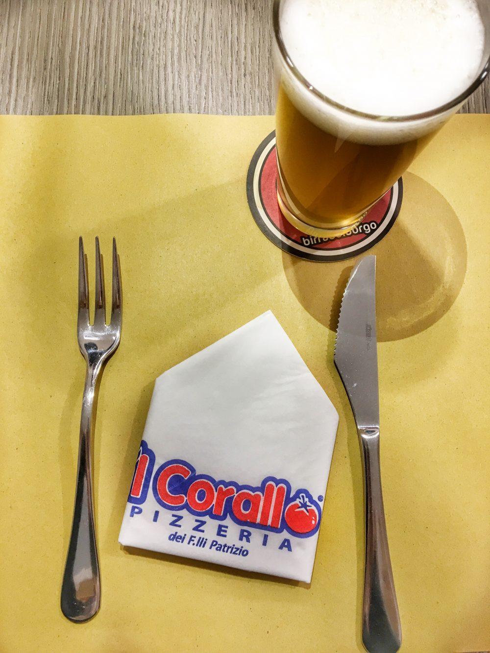 Il Corallo - La mise en place