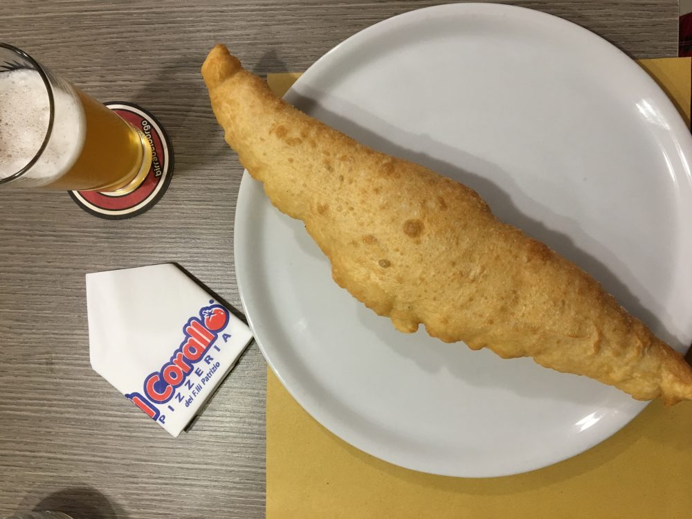 Il Corallo - La pizza fritta