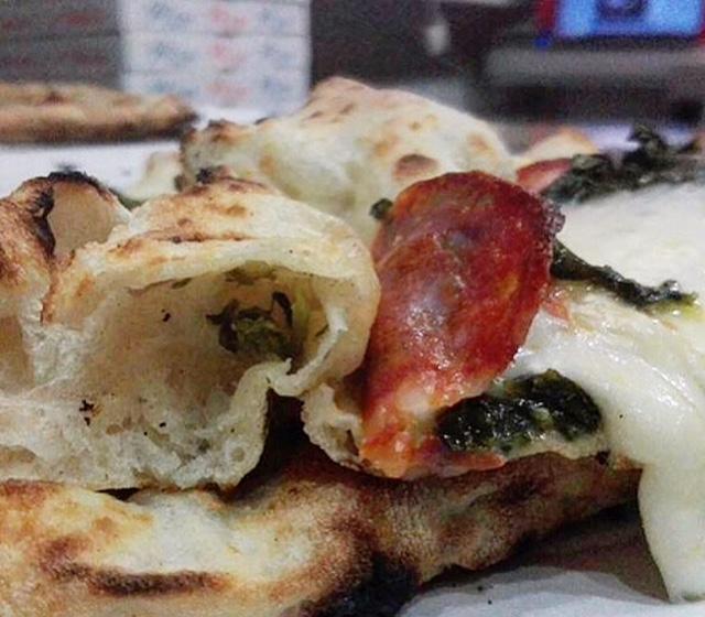 Il Folletto - alveolatura della pizza