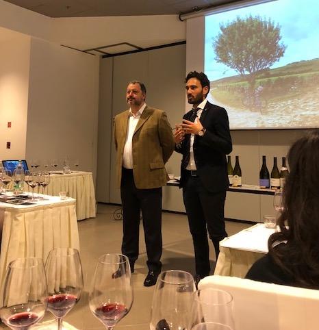 Il relatore della degustazione Vecchia Borgogna- Armando Castagno