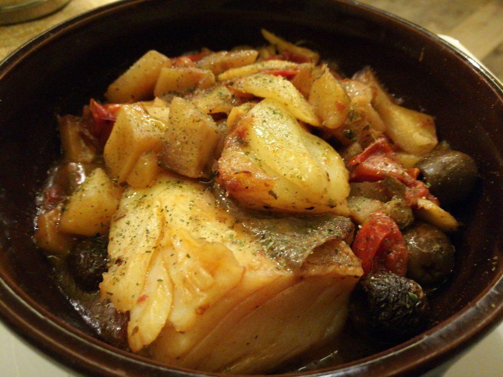 Fuoco Lento - Il tegamino di Stocco con le patate al forno a legna