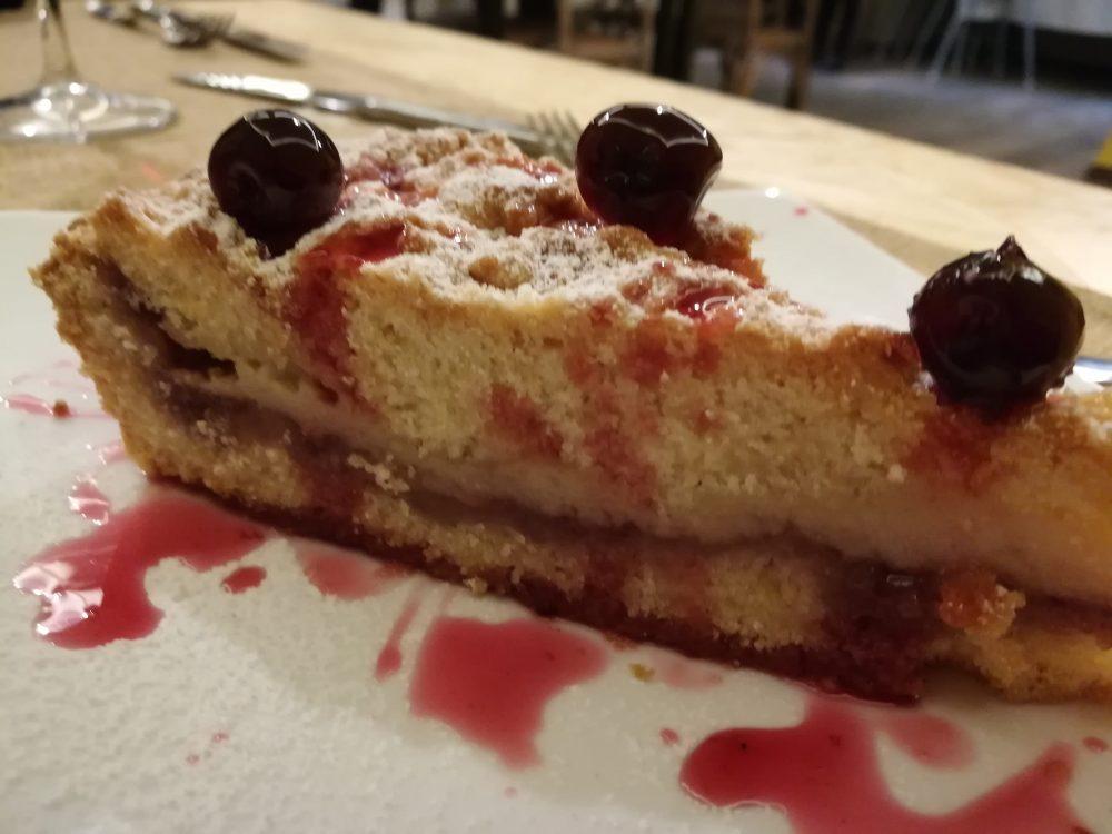 Fuoco Lento - La torta pasticciotto all'amarena