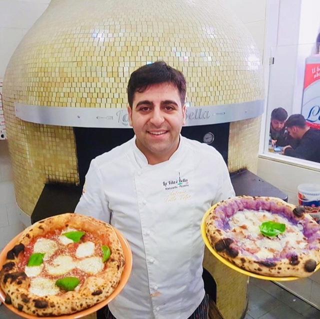 La vita e' bella - Antonio Della Volpe chef e pizzaiolo