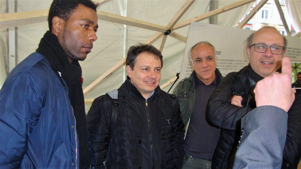 Leguminosa 2018 – Gaetano Pascale con Yvan Sagnet, Vito Trotta e Rosario Mattera