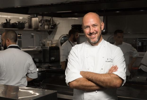 Lo chef Lele Usai una stella Michelin