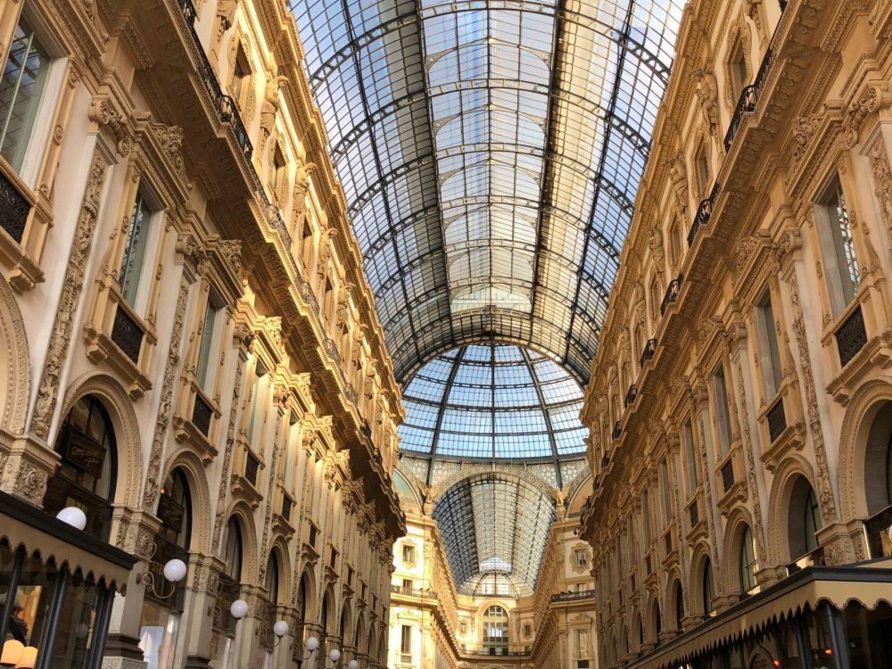 Milano, la Galleria