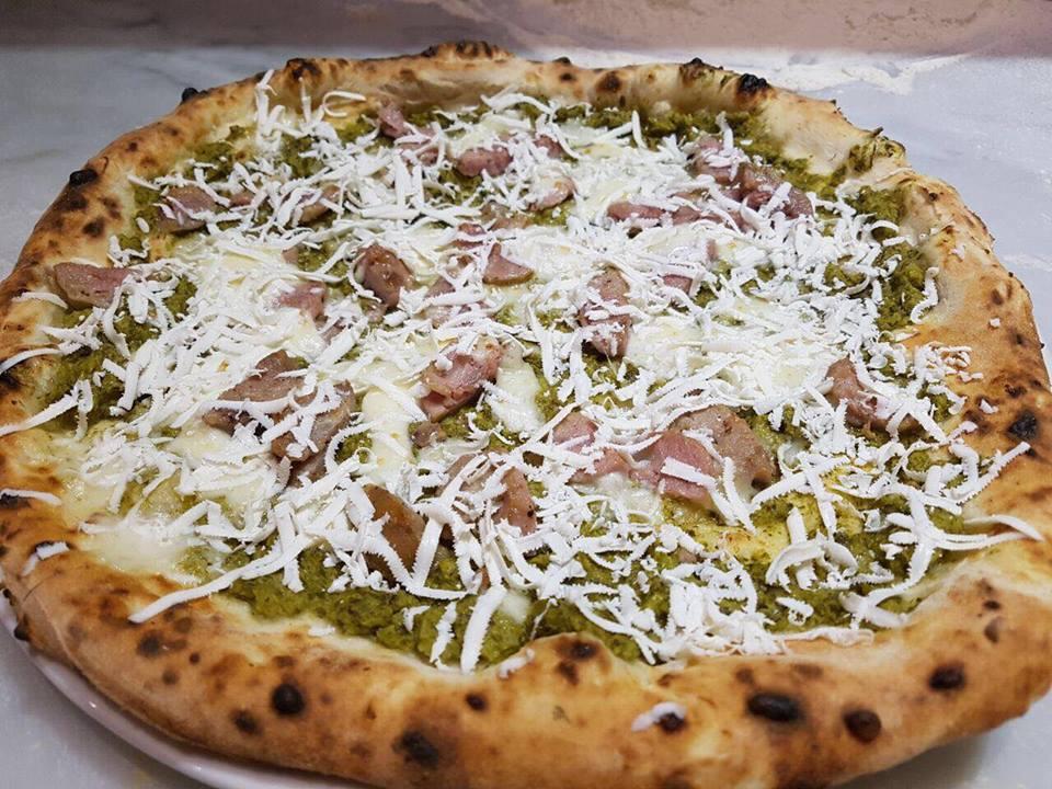 Pizza salsiccia e friarielli - 50 Kalo' Ciro Salvo