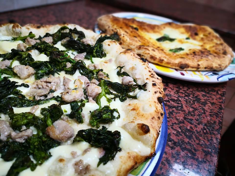 Pizza salsiccia e friarielli - Da Ciro Pellone