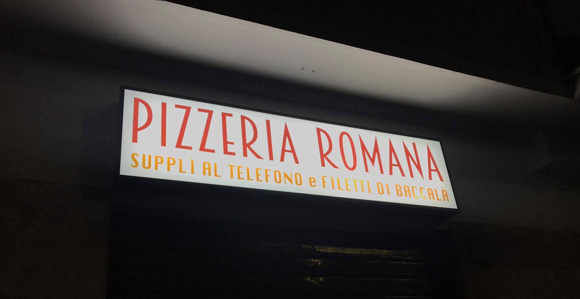 Pizzeria 180 g, una delle insegne