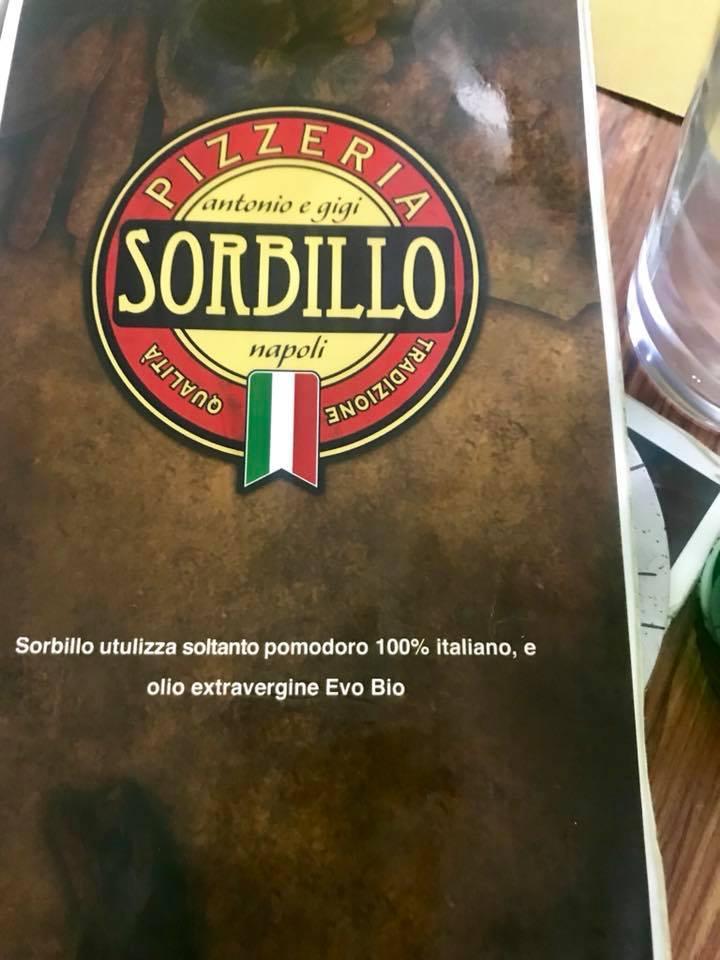 Pizzeria Antonio e Gigi Sorbillo, Menu'