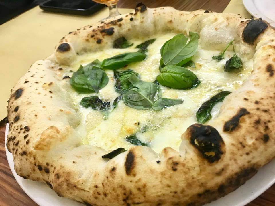 Pizzeria Antonio e Gigi Sorbillo, a quattro formaggi