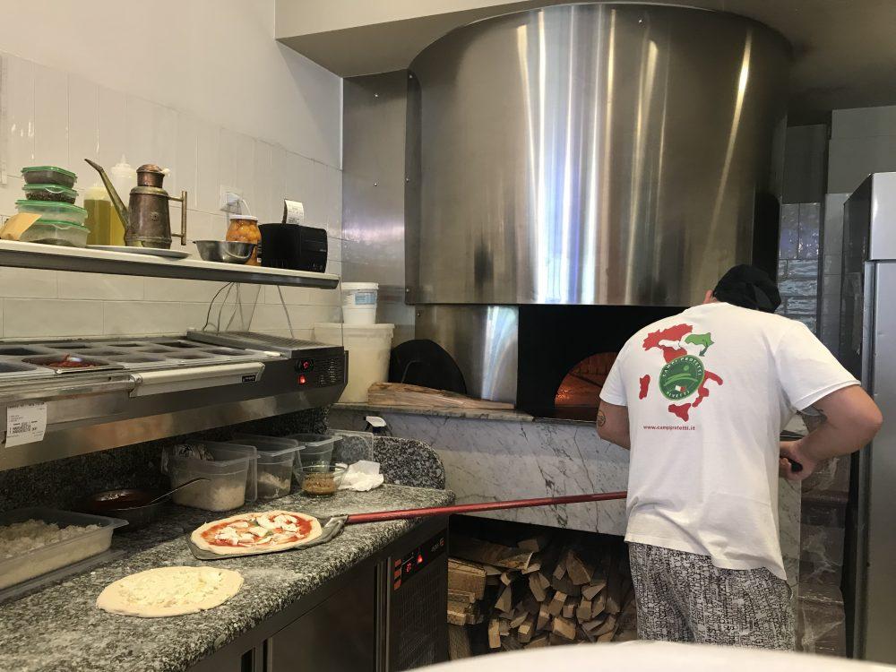 Pizzeria Nannine' - Il forno