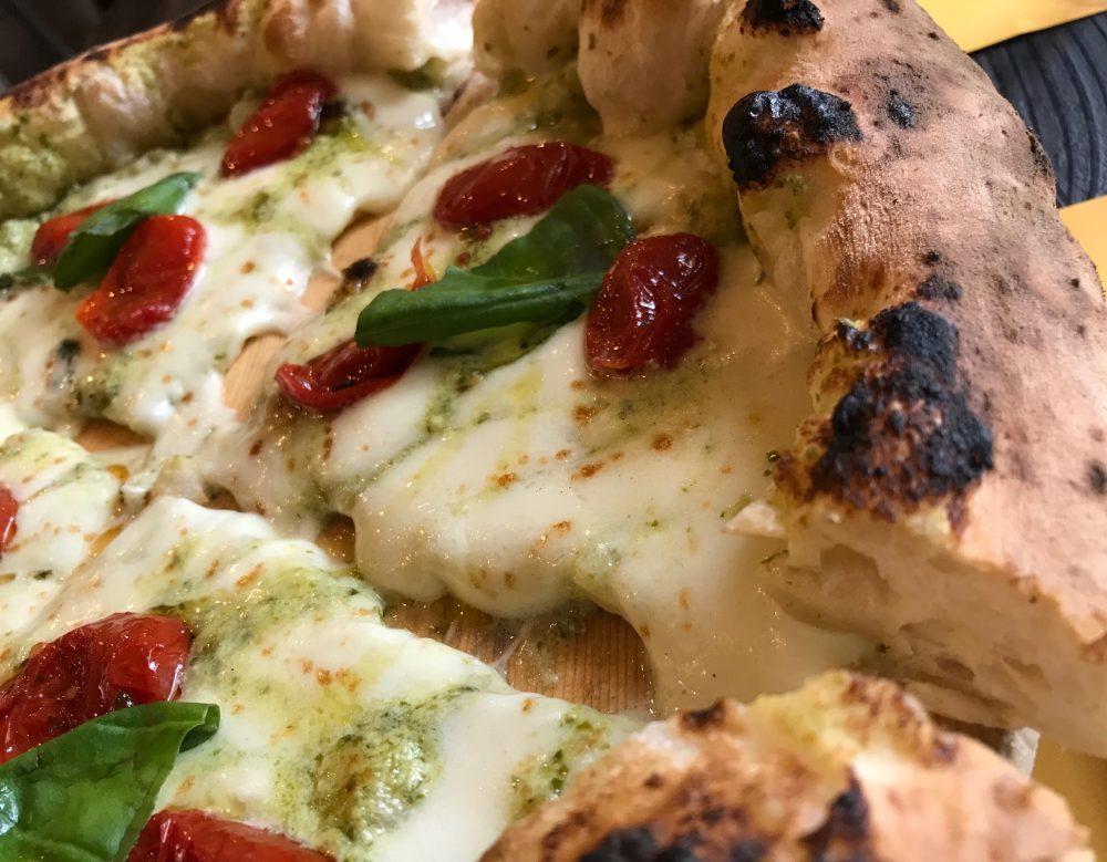 Pizzeria P, Lissone, dettaglio Daniele Ferrrara