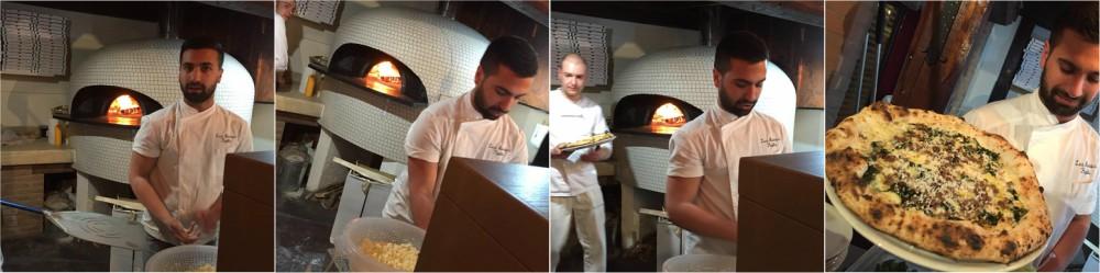 Pizzeria Pupillo, Luca al forno