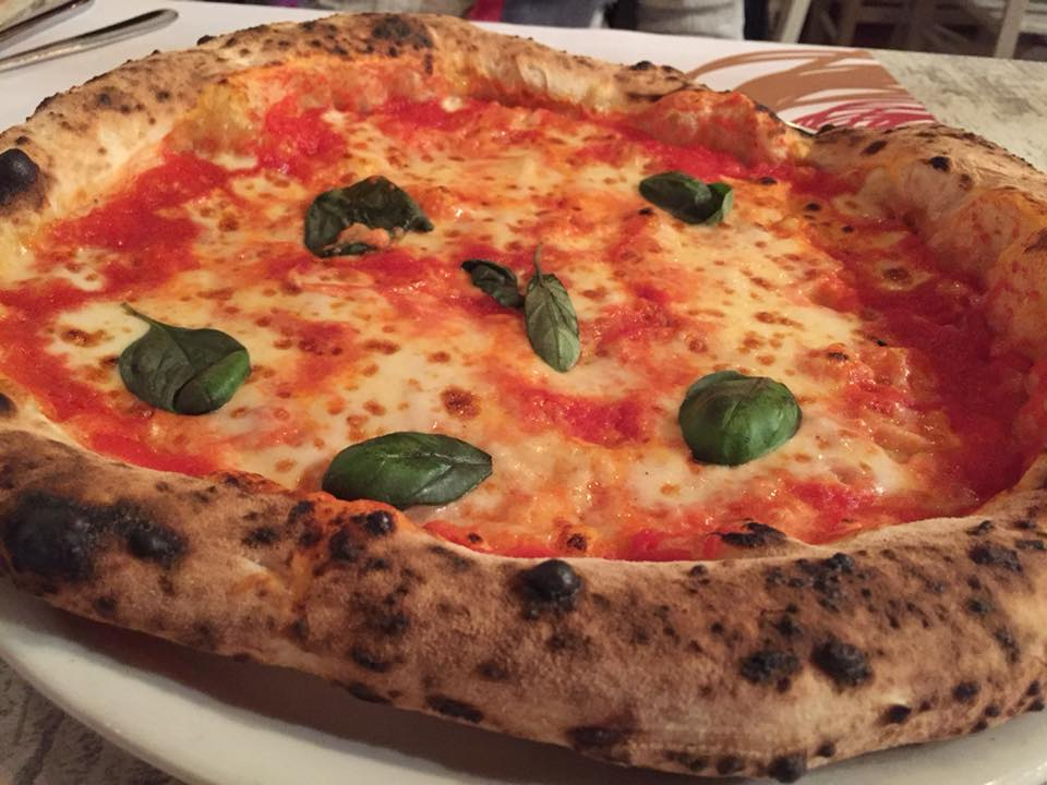 Pizzeria Pupillo, la margherita