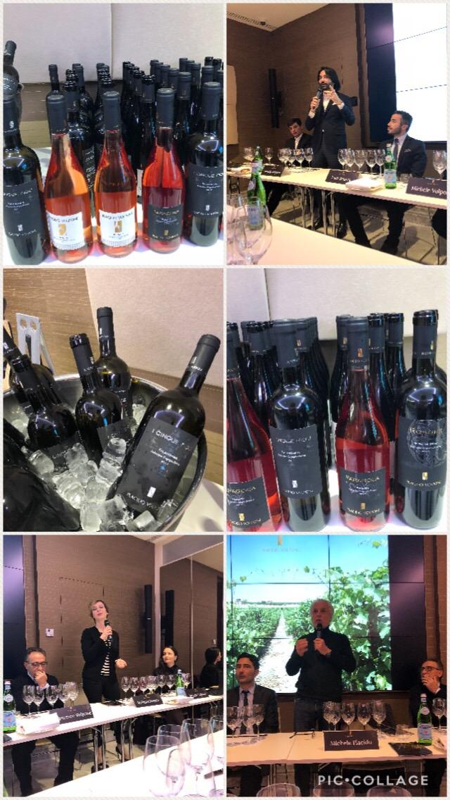 Presentazione a Roma dei vini Placido Volpone