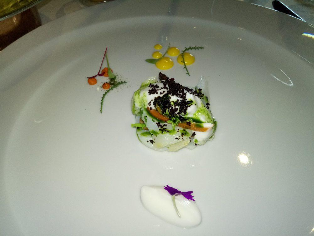 Ristorante Le Trabe Insalatina di baccala' con papaccelle napoletane, olive e scarola