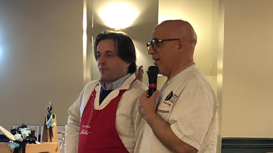 Sergio Motta e Corrado Scaglione