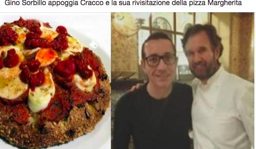 sorbillo con cracco e la pizza