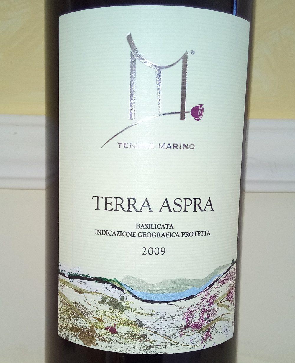 Terra Aspra Rosso Basilicata Igp 2009 Marino