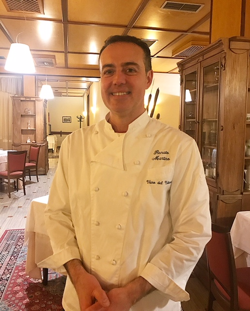 Vairo del Volturno - lo chef Renato Martino