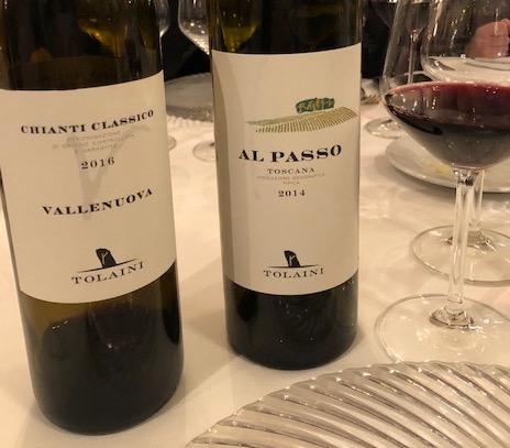 Vallenuova Chianti Classico e Al Passo Tolaini