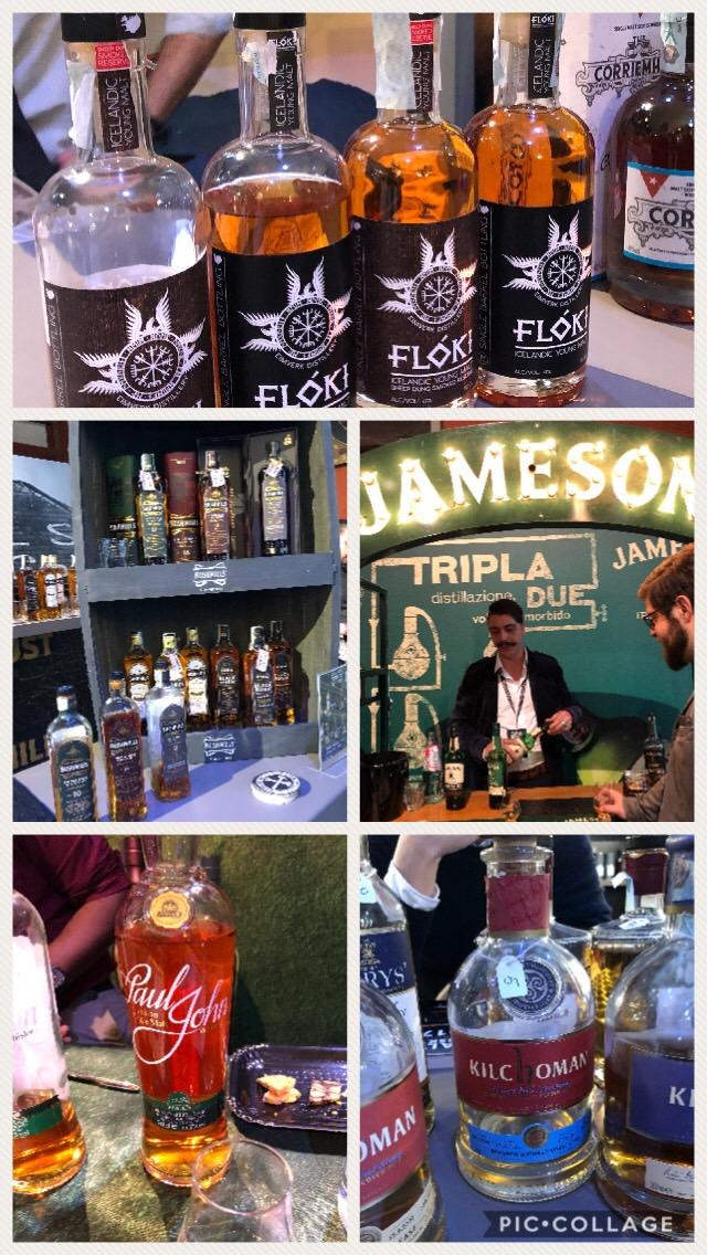 Whisky islandesi, irlandesi, scozzesi, indiani al Roma Whisky Festival