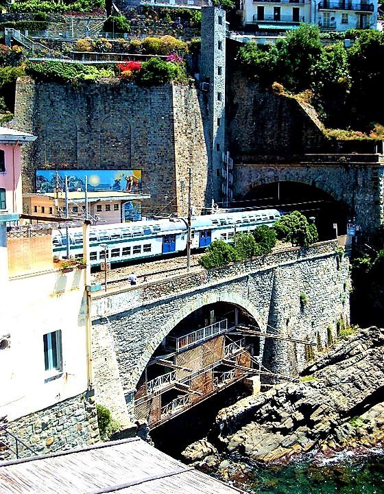 La stazione di Riomaggiore