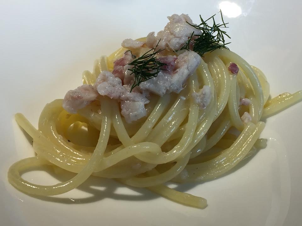 Locanda Severino, spaghetti burro e anguilla