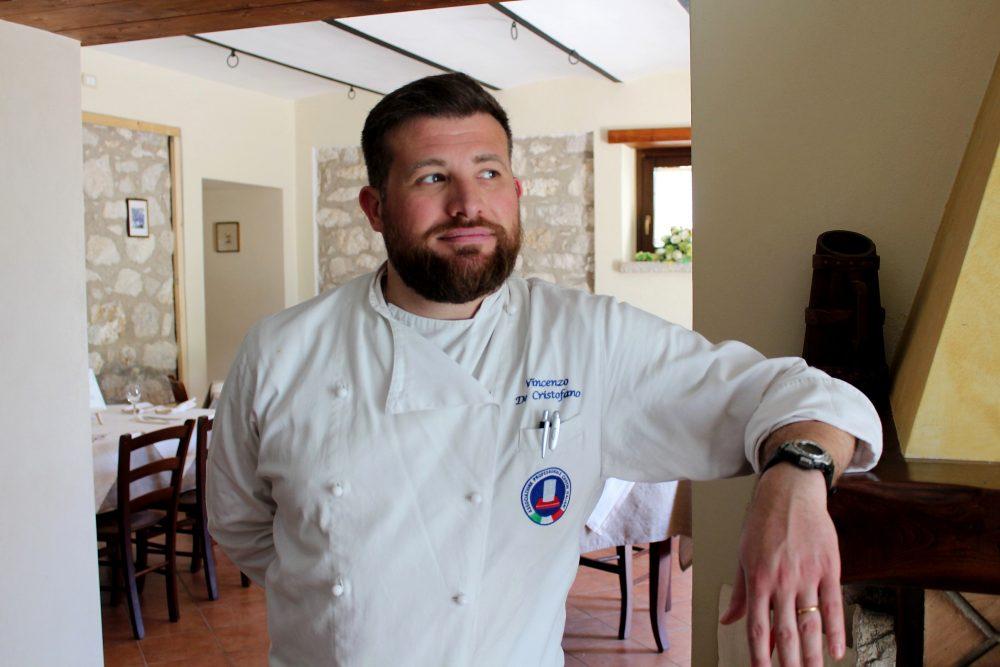 Masseria Mastrangelo lo chef Vincenzo De Cristofano