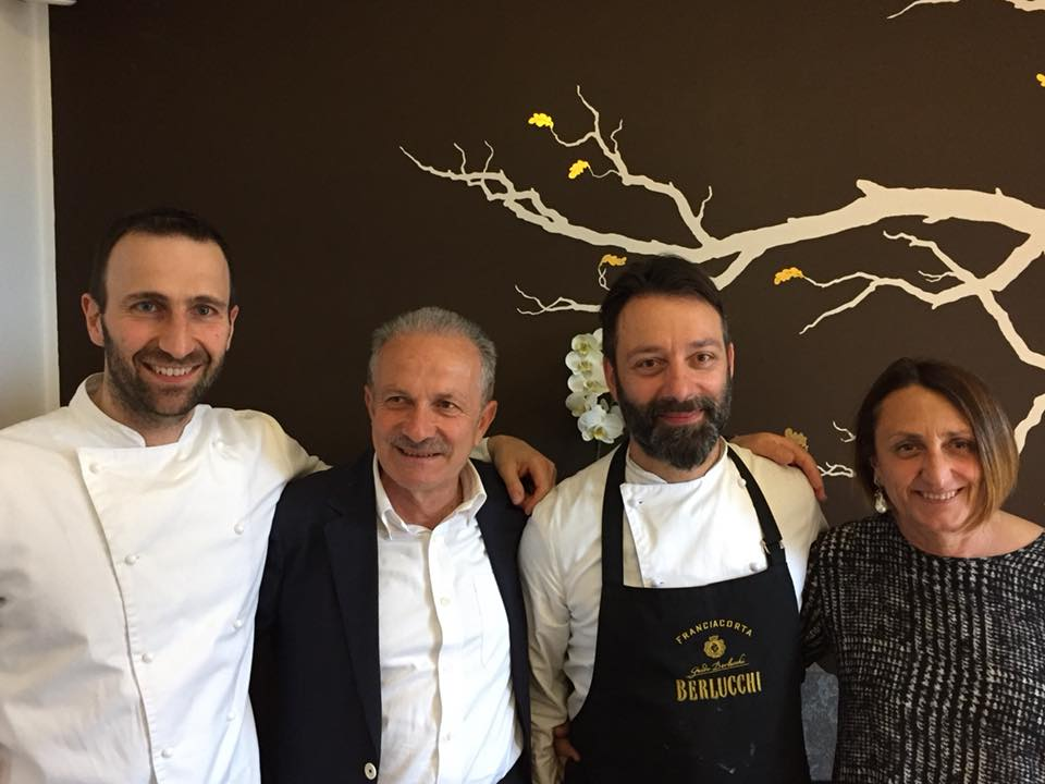 Tim Ricci, lo chef Misuriello con i coniugi Pucciarelli
