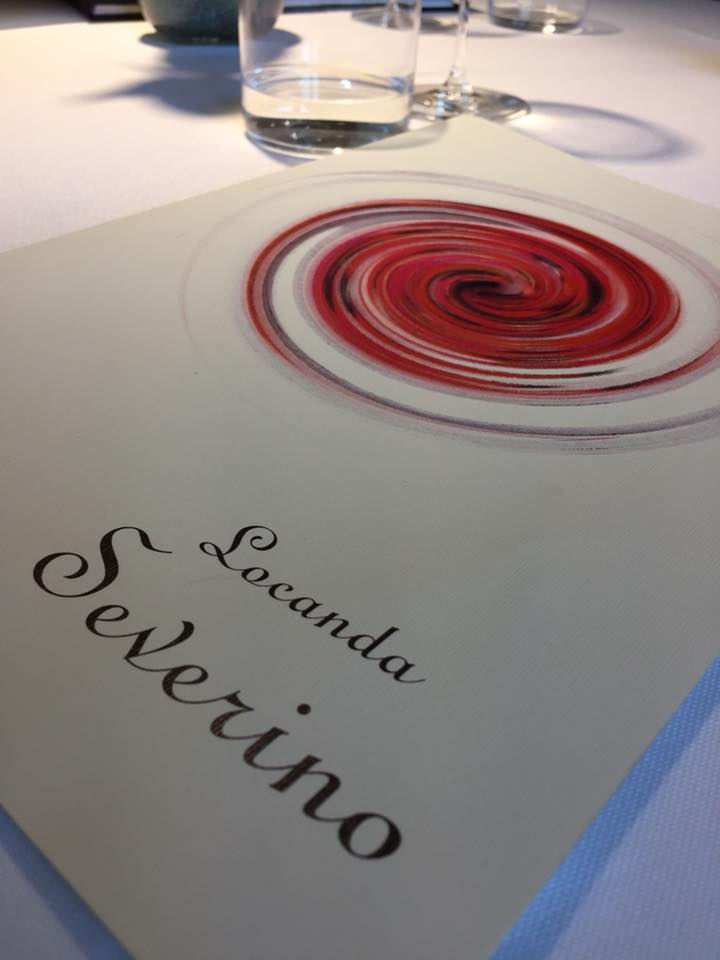 Locanda Severino, il menu